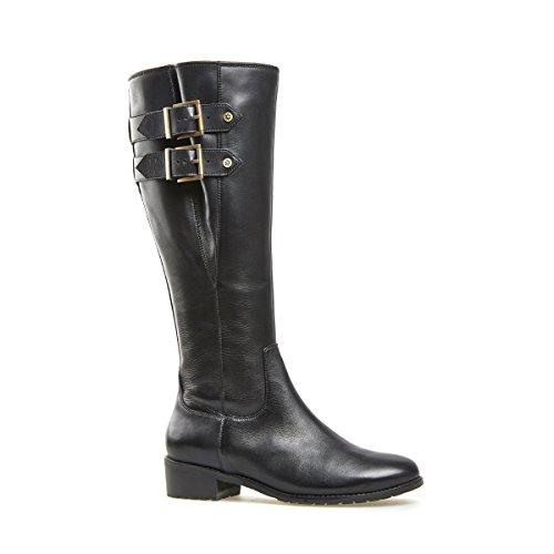 Van Dal Shoes Womens Long Boot Portia in Black 1fdd03285