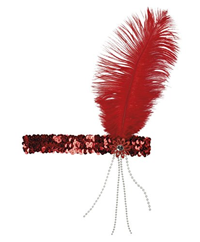 Boland 00618 Haarband Flapper, Damen, One Size