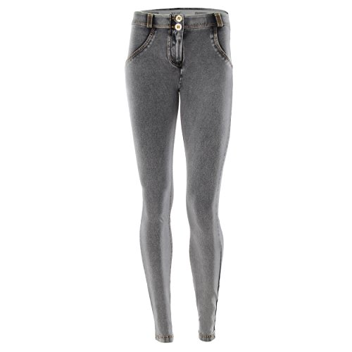 Freddy WR.UP Mid Rise Skinny Jeans Grey