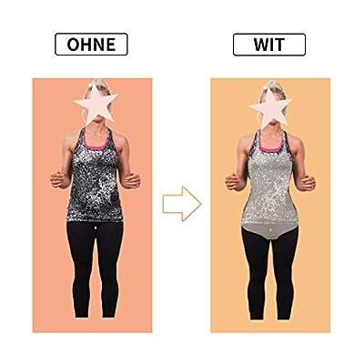 Wirezoll Damen Shapewear Figurformender Formende Bodys Taillenformer angenehm Shaping Bodysuit mit Haken