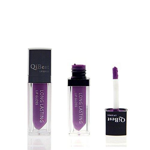 Susenstone Imperméable à l'eau Mate Liquide Rouge à Lèvres Longue Durée Lip Gloss Qibest Rouge à Lèvres, PP09