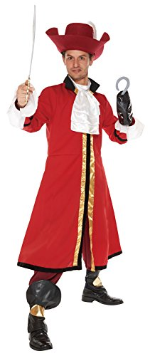 Disney Peter Pan Captain Hook Kostuem Herren 165cm-175cm -