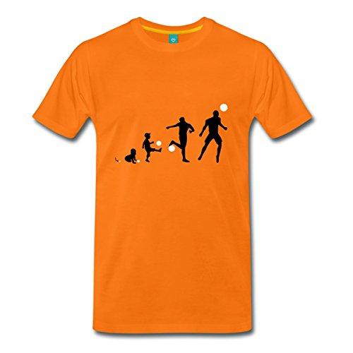 Spreadshirt Football Evolution Men's T-Shirt