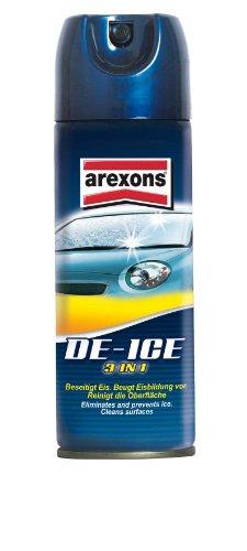 Arexons Enteiser (De-Ice 3in1) Spray 300 ml - Professioneller Scheibenenteiser, Scheibenentfroster mit Pflegewirkung