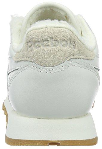 Reebok AR2788, Scarpe da Ginnastica Basse Donna Bianco (chalk/paperwhite-gum)