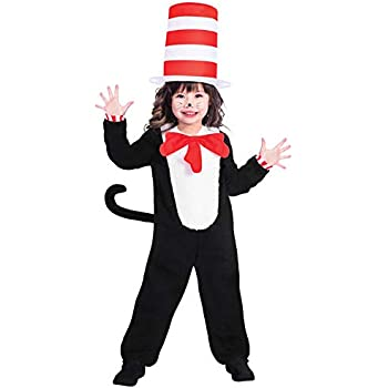 Adult World Book Day Costume Cat in the Hat Fancy Dress Dr Seuss Book Week