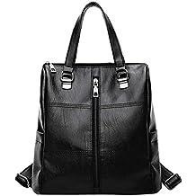 CICIYONER Vintage Girl Leather School Bag Mochila Satchel Mujeres viajan Bandolera