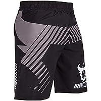 Ringhorns Charger Pantalones Cortos de Entrenamiento, Unisex Adulto, Negro, L