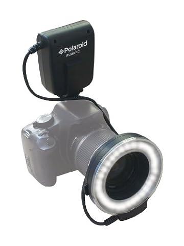 Polaroid LED Makro-Ringblitz & Licht für die Nikon D5300, D5000, D3000, D3200, D5100, D5200, D3100, D7000, D7100, D4, D800, D800E, D600, D610, D40, D40x, D50, D60, D70, D80, D90, D100, D200, D300, D3, D3S, D700, Digital SLR Kameras (passt auf 52,55,58,62,67,72,77mm