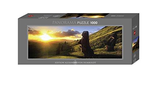 Imagen 4 de Heye Panorama Puzzle Easter Island 1000 Teile (KV&H Verlag)
