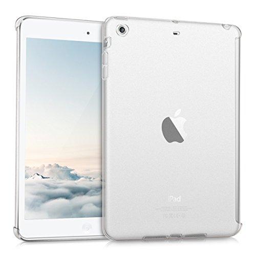 kwmobile Hülle für Apple iPad Mini 2 Retina / Mini 3 - Smartcover Kompatibles Backcover Case Tablet Schutzhülle TPU Silikon - Tabletcase Cover Matt Transparent