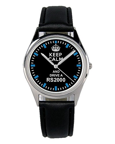 Geschenk für RS2000 Ford Escort Fans Fahrer Kiesenberg Uhr B-1482