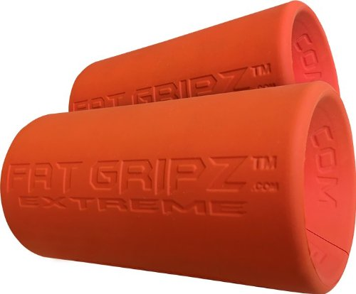 Fat Gripz Extreme - Fortalecedor de mano (7 cm de diámetro) , color naranja, talla NA
