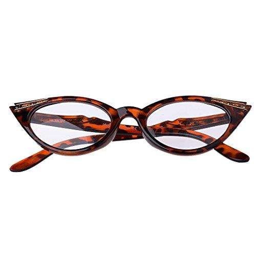 Eliky Frauen Cat Eye Lesebrille Presbyopie Brillenbrille Harz