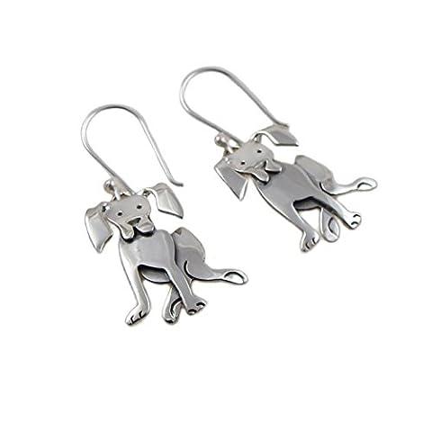 Labrador Retriever 925 Sterling Silver Dog