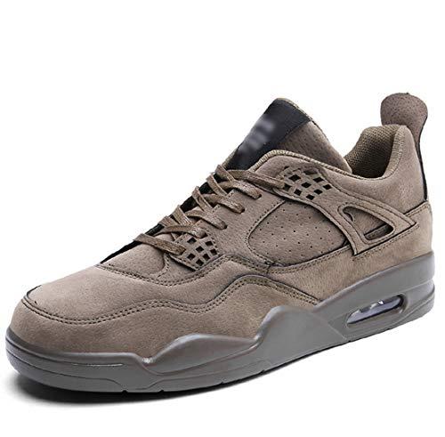 t Schuhe Gezeiten Schuhe Luftkissen Freizeit Sneakers Studenten Schuhe,Khaki,44 ()