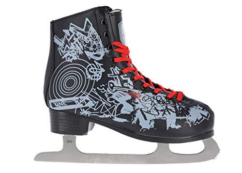 Nils Extreme Schlittschuhe Eiskunstlauf # Kunstlauf Eiskunstlaufschuhe gefüttert Klassisch EIS Sport Eislaufen Damen & Herren NF4463 (41) -