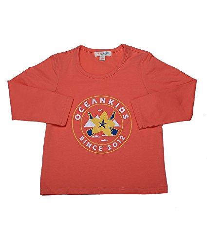 Oceankids Jungen Rot Langarm T-SHIRT Australian Opopanax Gedruckt 8T 7-8 Jahre (End Jungen Shirt Lands)