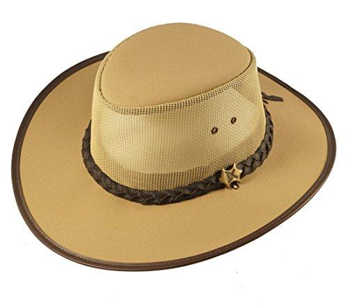 Bill Conner - Hats - Sombrero Cowboy - para Hombre Beige Small f07c03726cb