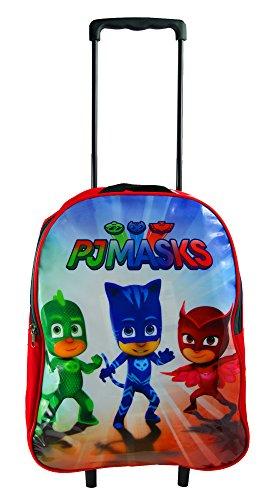Original Minions Trolley Bag Kinder Kindertasche, Kinder `s Gepäck Gepäck Official Licensed Deluxe Trolley (PJ Masks) (Entlang Gepäck)