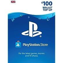 PlayStation PSN Card 100 GBP Wallet Top Up | PSN Download Code - UK account