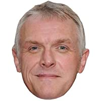 Greg Davies Celebrity Mask, Card Face and Fancy Dress Mask
