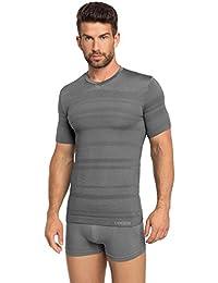 Ladeheid Camiseta Mangas Cortas Ropa Interior Térmica de Compresión Ropa Deportiva Hombre 05 2