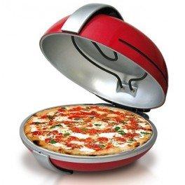 Melchioni Bella Napoli, fornetto per pizze da 1200 W con pietra refrattaria da 31 cm
