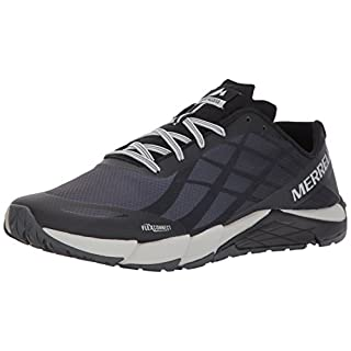 Merrell Men's Bare Access Flex Fitness Shoes, Black (Black/Silver), 11 UK (46 EU)