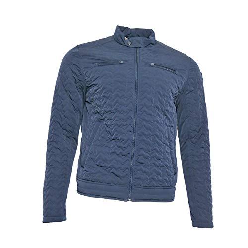 Vanguard Herren Steppjacke Übergangsjacke Daunenjacke Jacke für Männer, Größe:M, Farbe:Blau