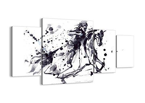 Renaissance Kostüm Zeitraum - Bild auf Leinwand - Leinwandbilder - Vier Teile - Breite: 160cm, Höhe: 90cm - Bildnummer 2985 - vierteilig - mehrteilig - zum Aufhängen bereit - Bilder - Kunstdruck - DL160x90-2985