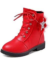 Ragazza Stivali da Neve Inverno Bambini Stivaletti Pelliccia Boots  Impermeabile Stivali Caldo Martin Sneaker Casual Scarpe 58e7c4e1166