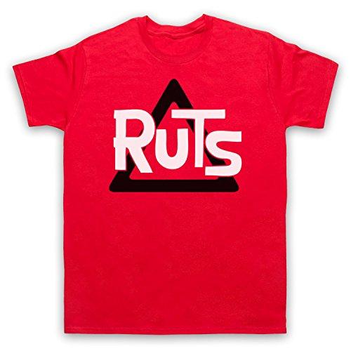 Inspiriert durch Ruts Logo Unofficial Herren T-Shirt Rot