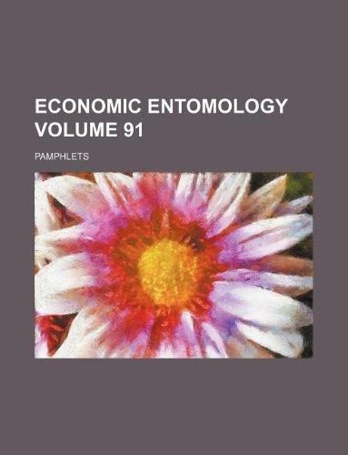 Economic entomology Volume 91 ; Pamphlets