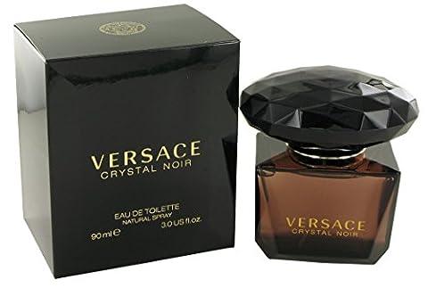 Versace Crystal Noir femme / woman, Eau de Toilette, Vaporisateur / Spray 90 ml, 1er Pack (1 x 90