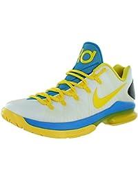 online store 8238c eb18e Nike Trainer Mann KD V Elite Kevin Durant transparentes Gummigeschosse und  gelb und blau 585386-