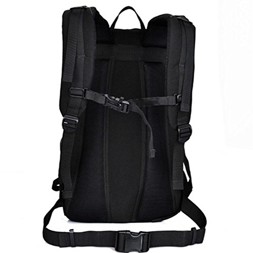 I fan Army bag tattico, luce zaino da viaggio zaino, borsa a tracolla esterno 35L camuffamento, impermeabile ad alta capacità , c a