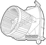 Denso DEA21006 Ventilateur, condenseur de climatisation