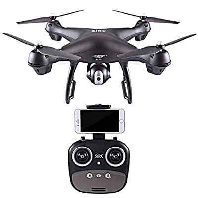 HUHU833 S70W 2.4GHz GPS FPV Drone Quadcopter with 1080P HD Camera Wifi Headless Mode from HUHU833