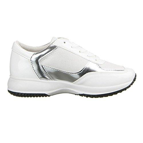 Femme 22–147 à chaussures de loisir Blanc - Blanc