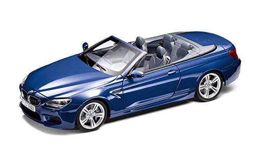 Preisvergleich Produktbild Original BMW M6 Cabrio (F12 M) Modellauto Miniatur 1:18 San Marino Blau