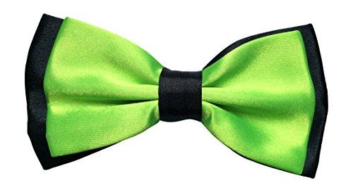 Satin pour homme vert fluo luxury réglable & pIE (vert/noir)