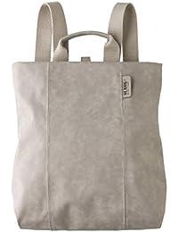Mochila-bolso mujer Slang GLU5 Glue Gris claro