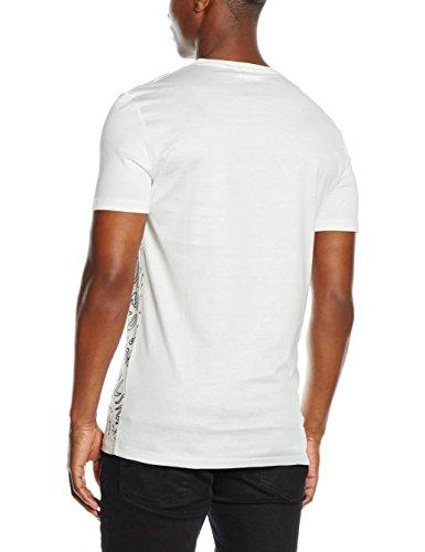 Antony Morato Herren T-Shirt Stampa Writing mehrfarbig (1006/BIAnCO)