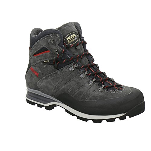 Meindl Antelao GTX Men Größe UK 10 anthrazit-rot Gtx Mountaineering Boot
