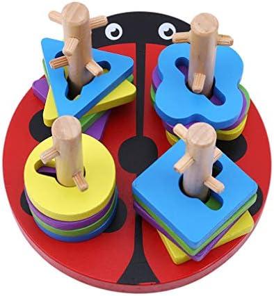 LJSLYJ  s Jouets Jouets Jouets éducatifs Puzzle en Bois Logic Polo géométrie de Forme Autour de Pile Toy Montessori | Sale Online  bab775
