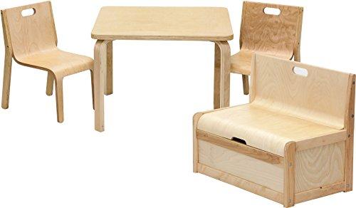 Ib Style Kindermöbel Set Joel 3 Variationen Truhenbank Tisch Stühle