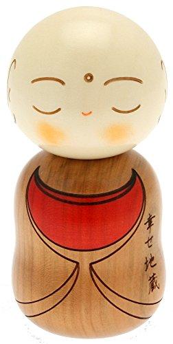 usaburo Japanische Kokeshi Puppe, braun ojizo