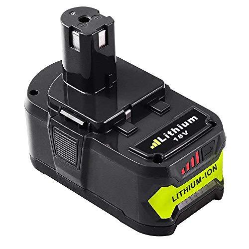 GatoPower 5500mAh RB18L50 Remplacement pour Ryobi 18V Batterie...