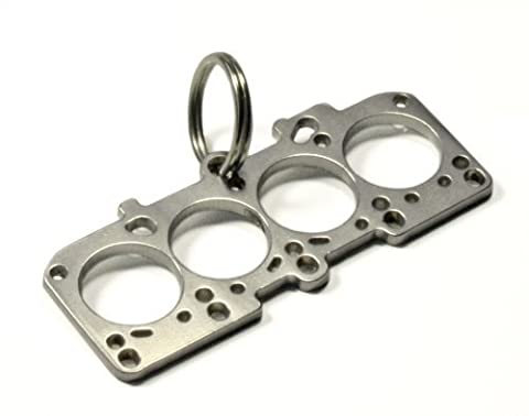 1.8T cylinder head gasket key chain stainless steel DUB